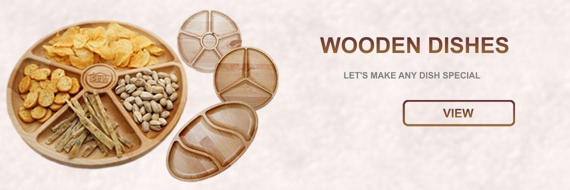 Wooden dishes